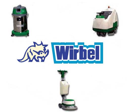 Wirbel Industrial Cleaning Scrubber Dryers single disc >>